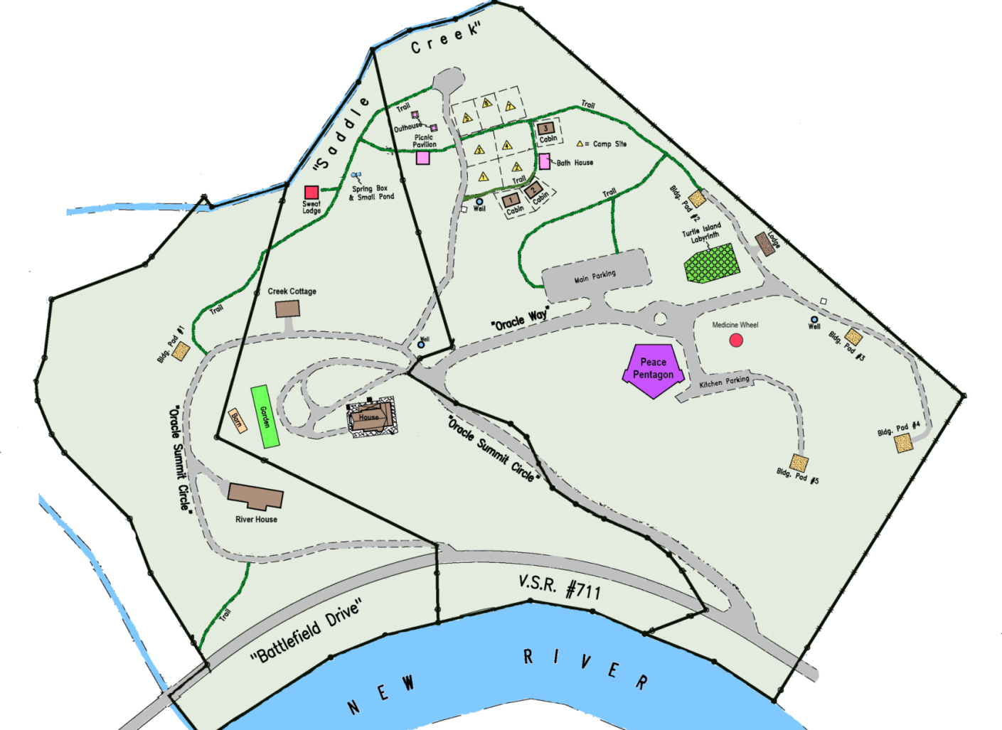 Oracle Campus Map