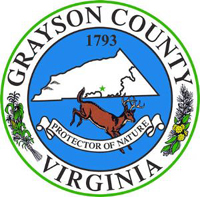 Seal of Grayson county, VA