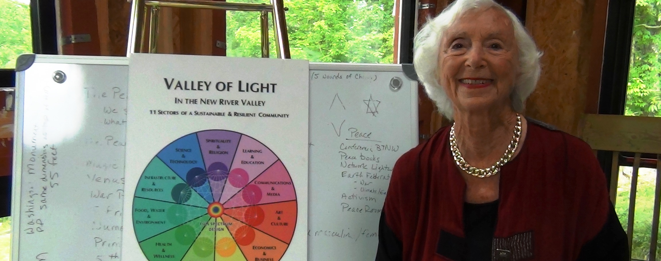 Barbara Marx Hubbard and the Wheel